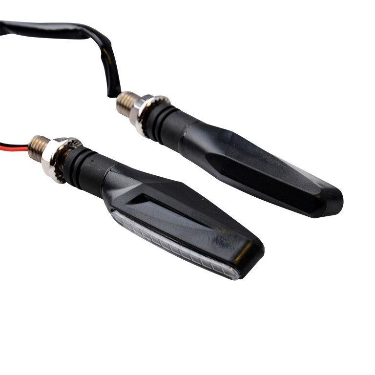 Clignotants LED Tun'R Smogg V2 séquentiels noir / fumé
