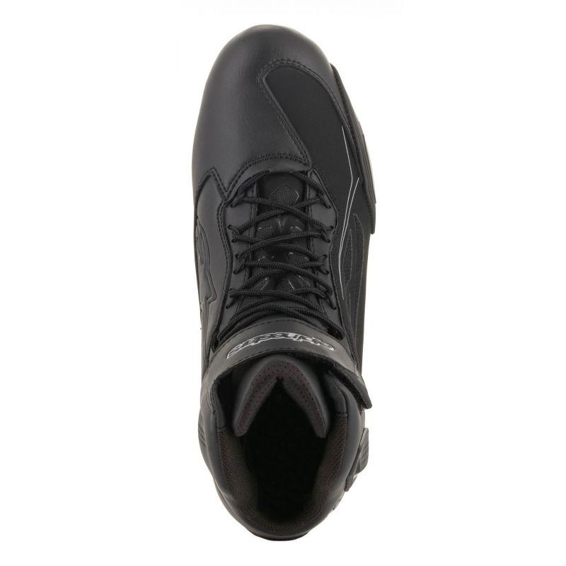Chaussures moto femme Alpinestars Stella Faster 3 Drystar noir/argent - 1