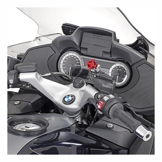 Support smartphone/GPS Givi sur bocal de frein - 5