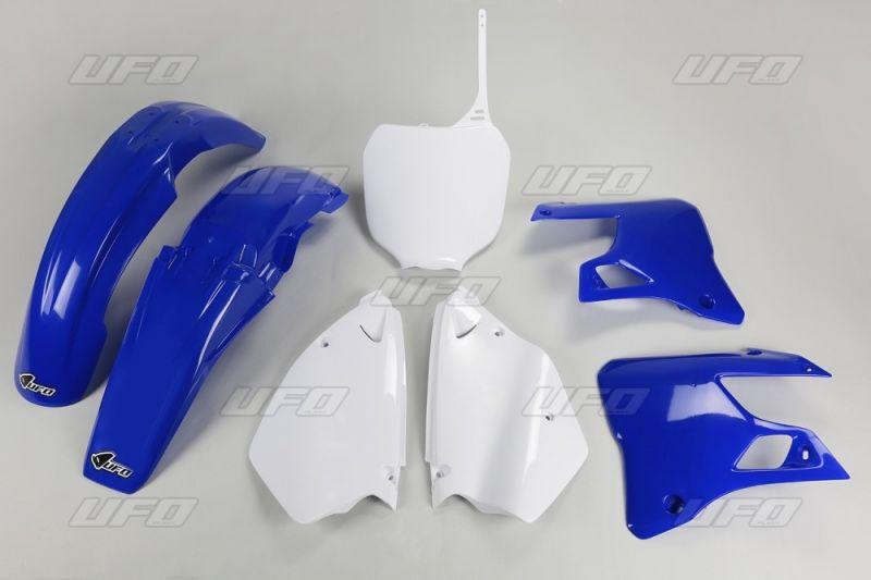 kit plastique ufo yamaha 125 yz 00 01 bleu blanc couleur origine pi ces car nage sur la. Black Bedroom Furniture Sets. Home Design Ideas