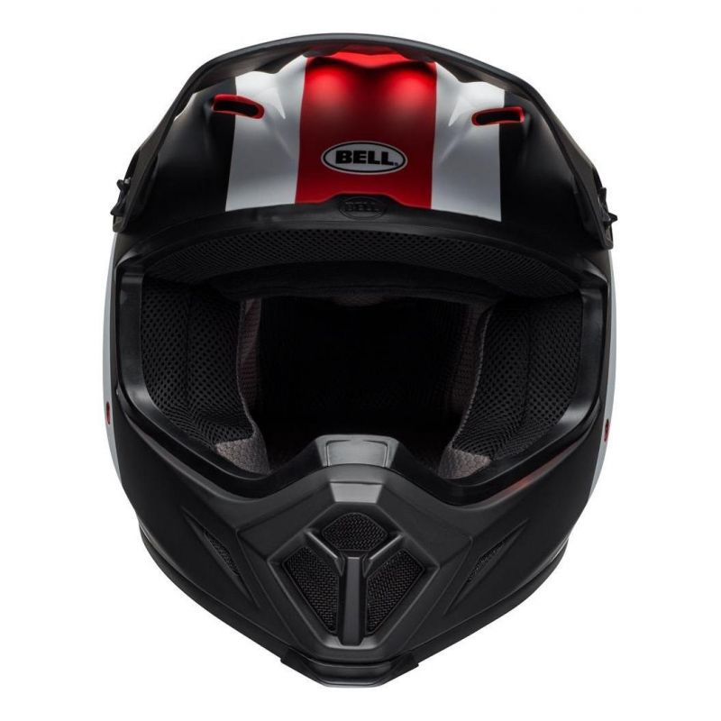 Casque cross Bell MX 9 Mips Presence noir/blanc/rouge - 6