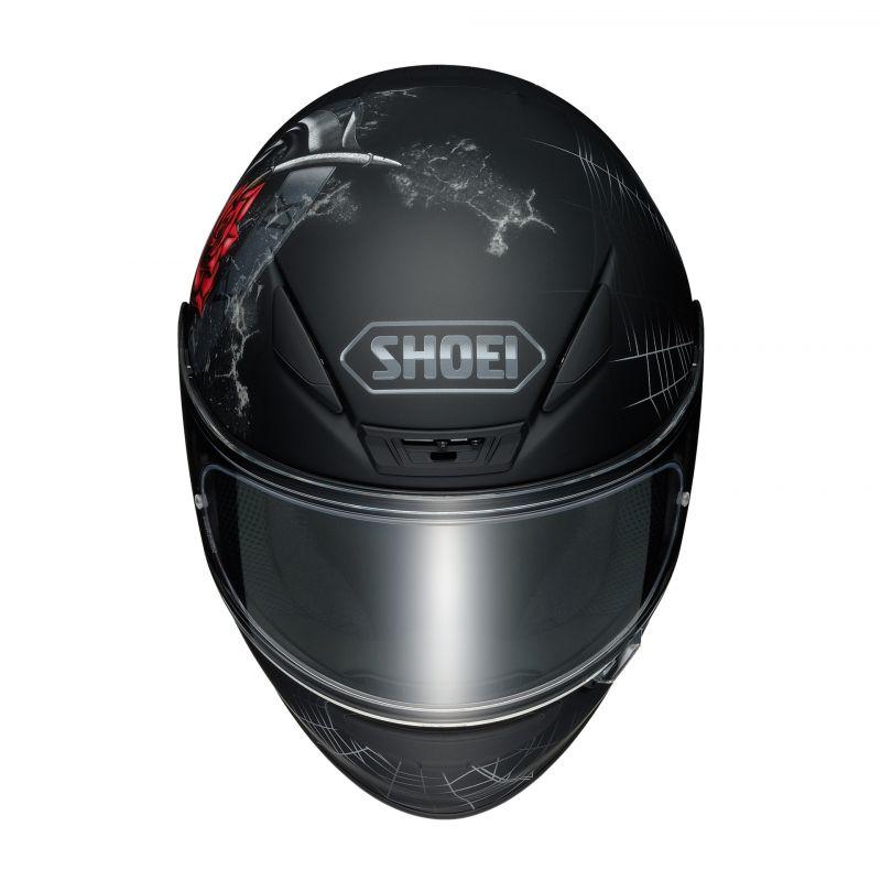 Casque intégral Shoei NXR Dystopia TC-5 noir/rouge - 3