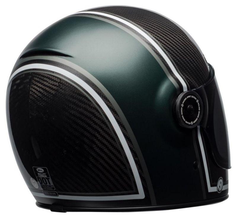 Casque intégral Bell Bullitt Carbon RSD Gloss/Matte green range - 5