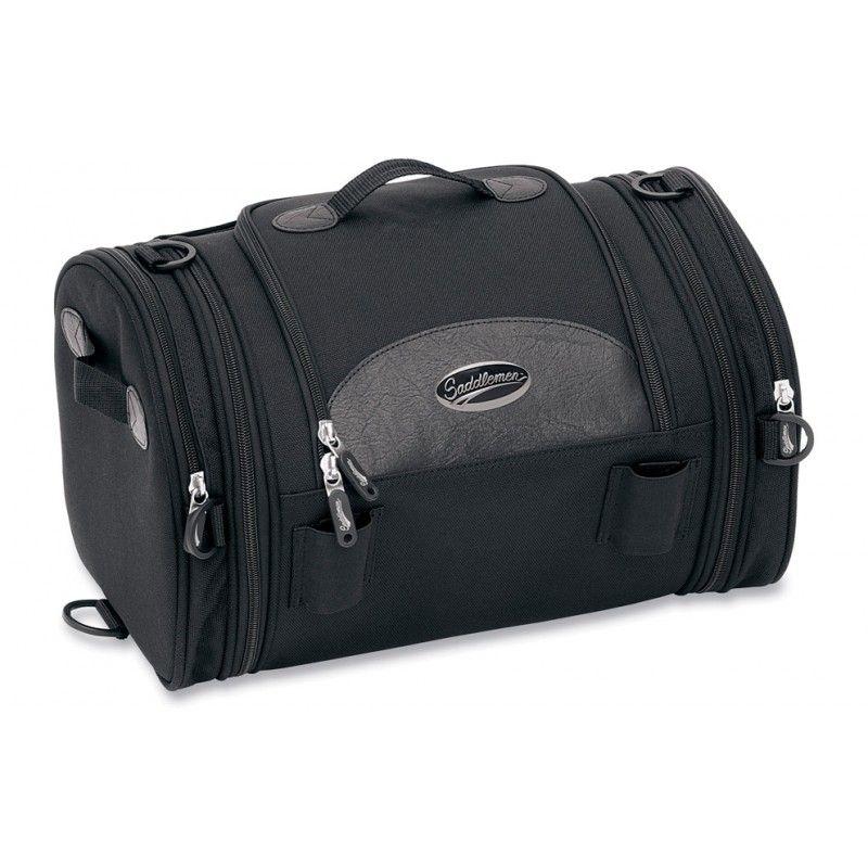 Sacoche de sissy bar Saddlemen R1300LXE Deluxe Roll Bag noire