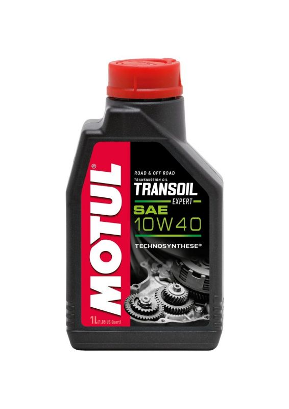 huile de transmission motul transoil expert 10w40 1l lubrifiant sur la b canerie. Black Bedroom Furniture Sets. Home Design Ideas