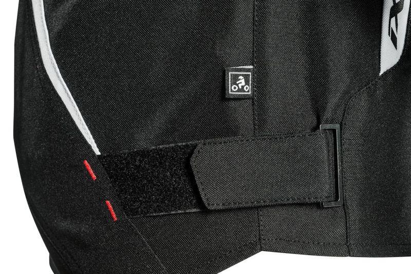 Blouson textile Ixon SPRINTER noir/blanc - 3