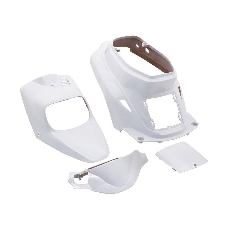 kit carrosserie 4 pi ces blanc brillant adaptable booster spirit bw 39 s original pi ces car nage. Black Bedroom Furniture Sets. Home Design Ideas