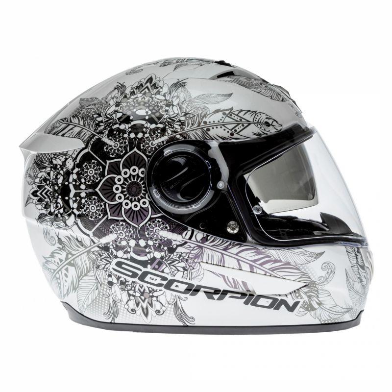 Casque intégral Scorpion EXO-490 DREAM blanc/caméléon - 2
