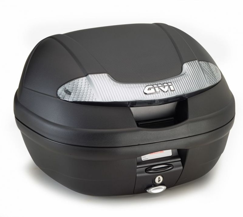 Top case Givi E340 Vision monolock catadioptres fumés avec platine/kit fixation