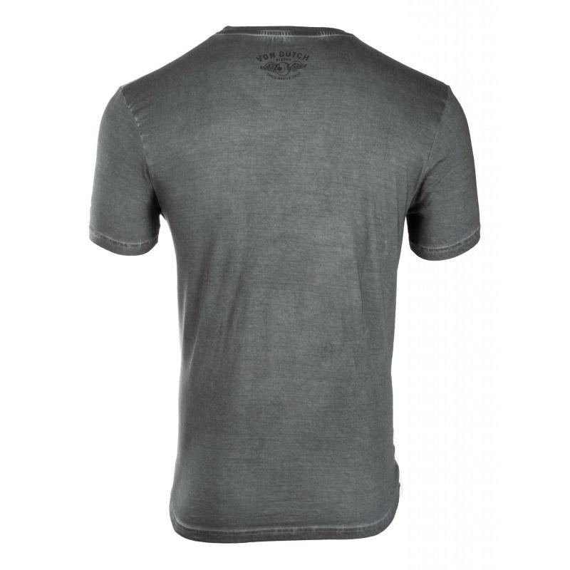 Tee-shirt Von Dutch Aaron'19 Gris - 1