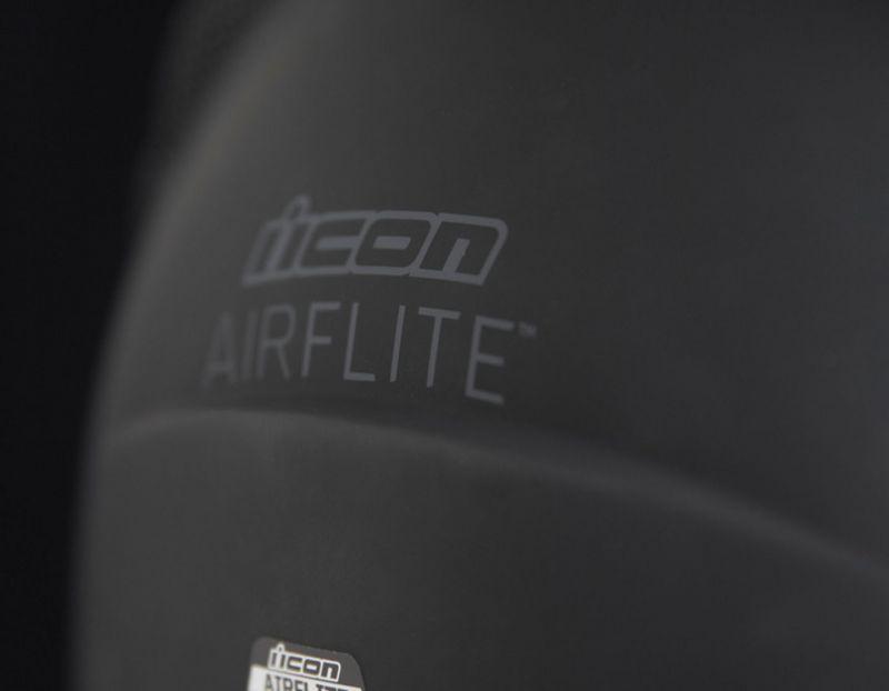 Casque intégral Icon Airflite Rubatone noir mat - 3