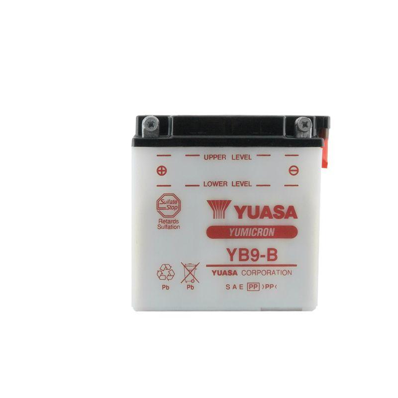 batterie yuasa yb9 b 12v 9ah pi ces electrique sur la b canerie. Black Bedroom Furniture Sets. Home Design Ideas