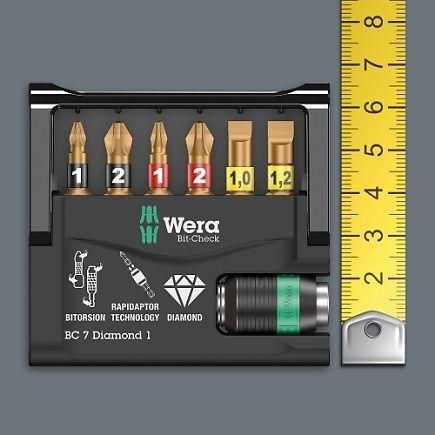 Assortiment d'embouts de vissage Wera Bit-Check Diamond 30 pièces - 4