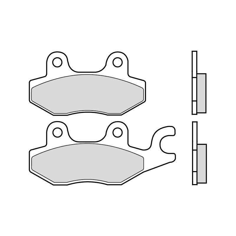 plaquettes de frein brembo 07033cc carbone c ramique avant arri re pi ces freinage sur la. Black Bedroom Furniture Sets. Home Design Ideas