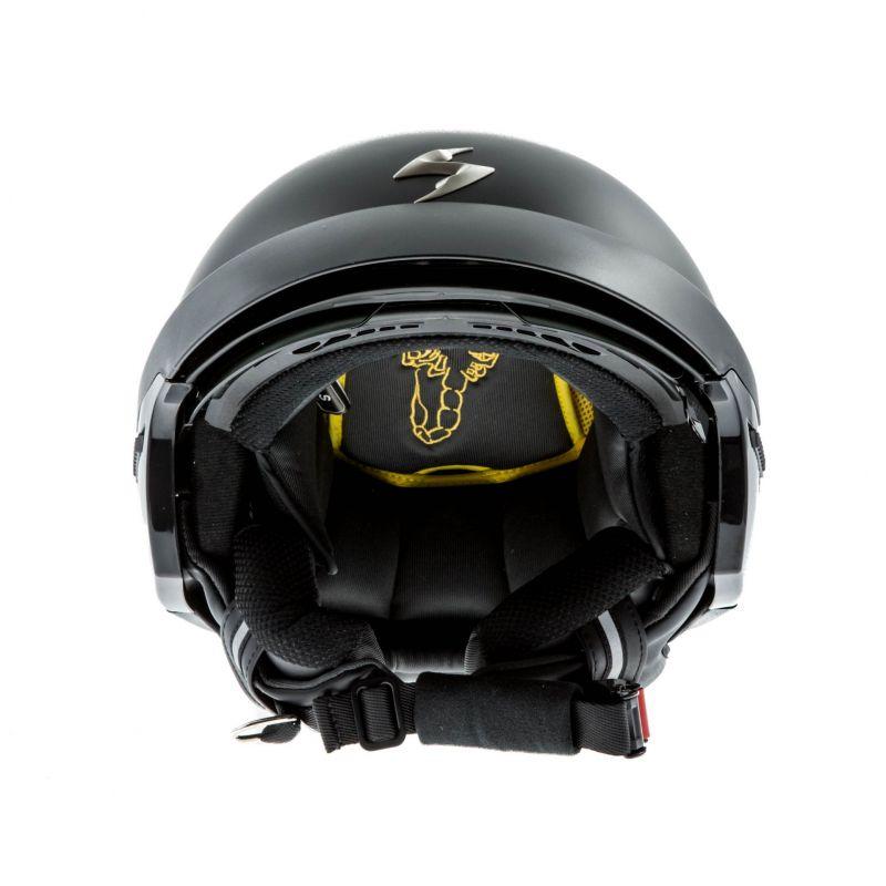 casque jet scorpion exo 100 noir mat casques moto sur la b canerie. Black Bedroom Furniture Sets. Home Design Ideas