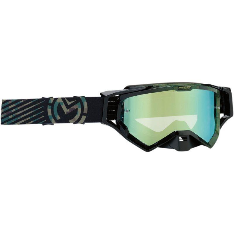 Masque cross Moose Racing XCR Camo vert/noir