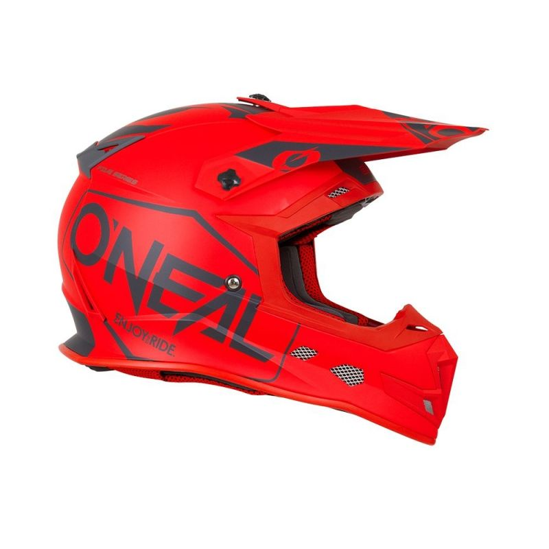 Casque cross O'Neal 5SRS Hexx rouge - 3