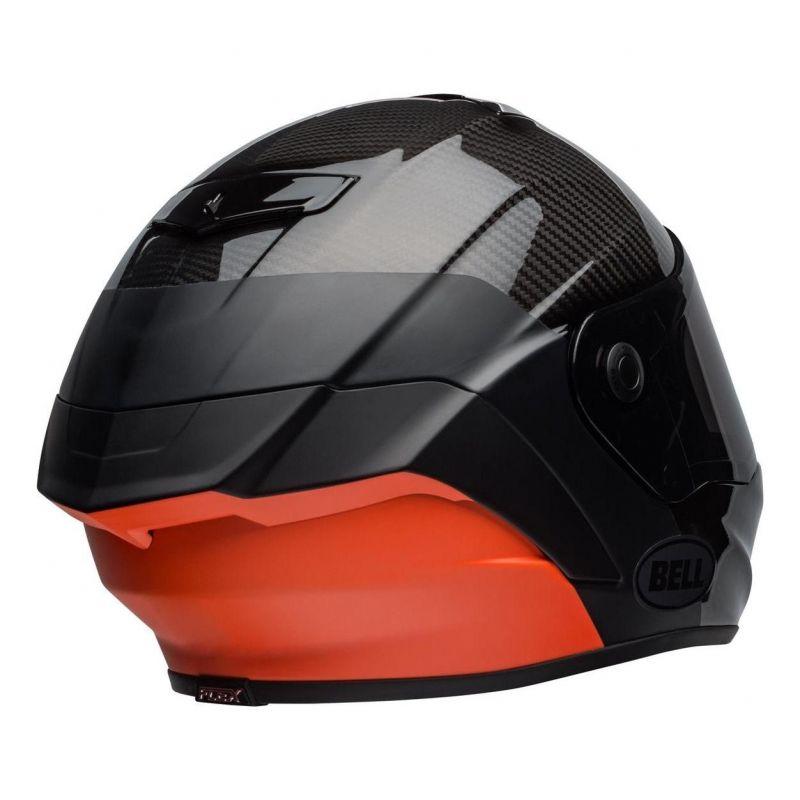 Casque intégral Bell Race Star Flex Surge noir/orange - 1