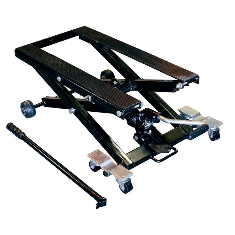 l ve moto m canique hydraulique bike tek pour custom atelier stand sur la b canerie. Black Bedroom Furniture Sets. Home Design Ideas