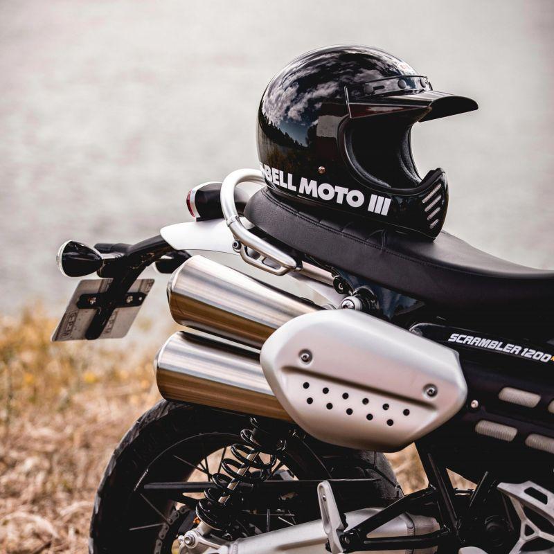 Casque Bell Moto 3 Classic noir - 5