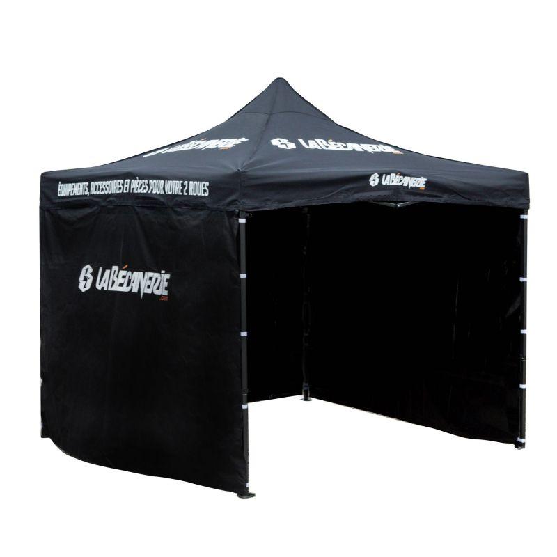 Tente paddock 3x3 la b canerie atelier stand sur la for Housse moto dafy