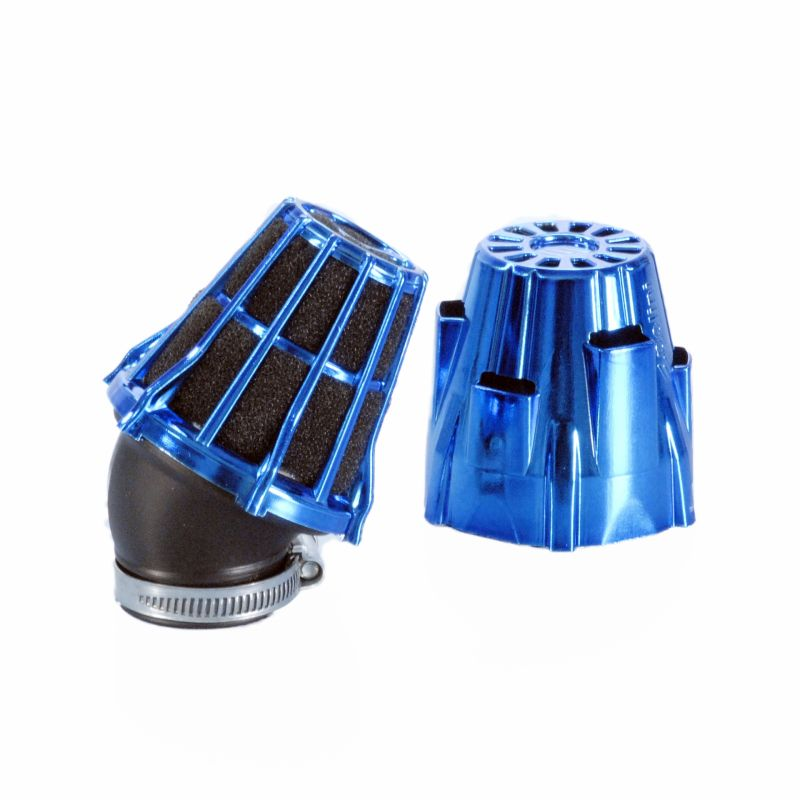 filtre air polini air box bleu anodis coud 30 pi ces carburation sur la b canerie. Black Bedroom Furniture Sets. Home Design Ideas