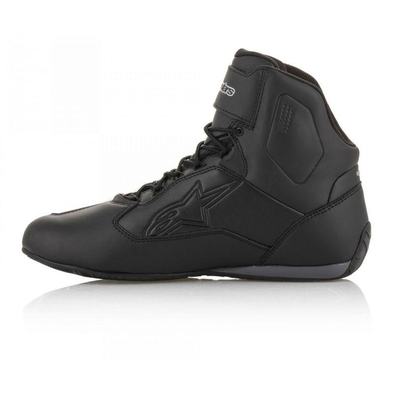 Chaussures moto femme Alpinestars Stella Faster 3 Drystar noir/argent - 4
