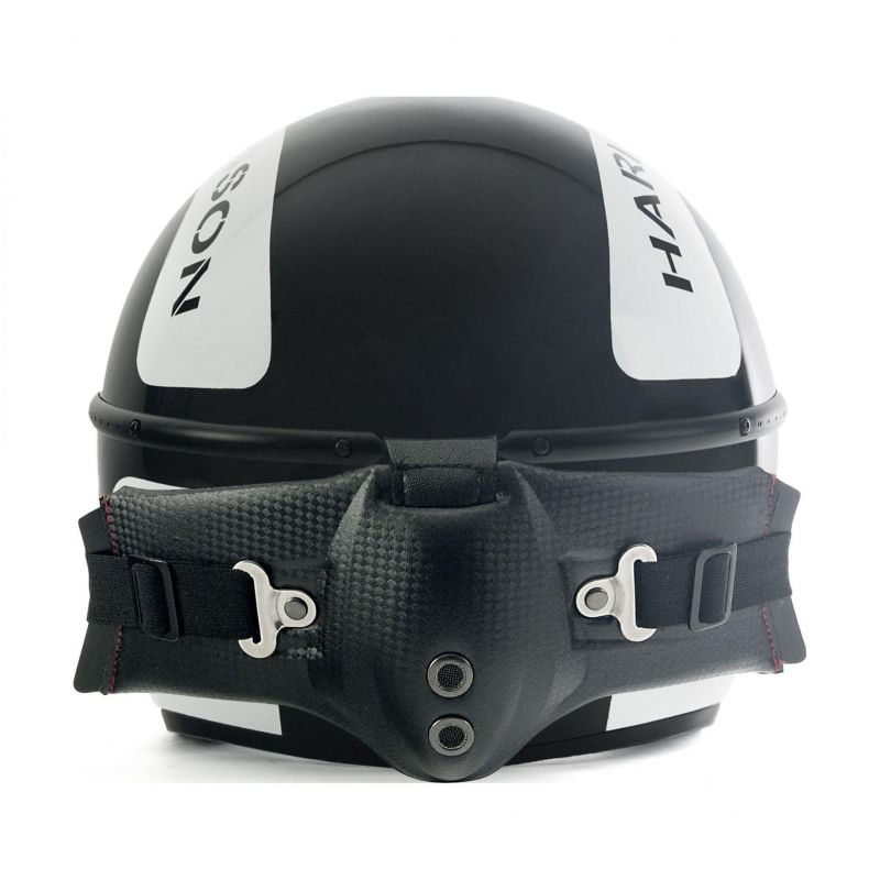 Casque jet Harisson Corsair Snooker noir/blanc - 3