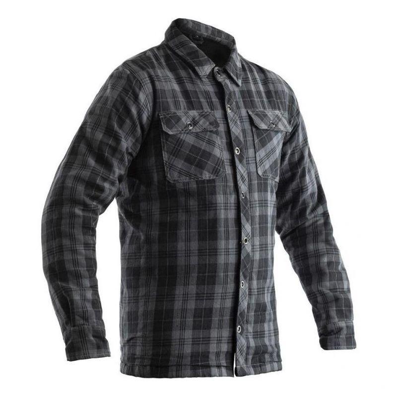 Qualité supérieure 354a9 29037 Sur-chemise textile RST Lumberjack Aramid CE gris