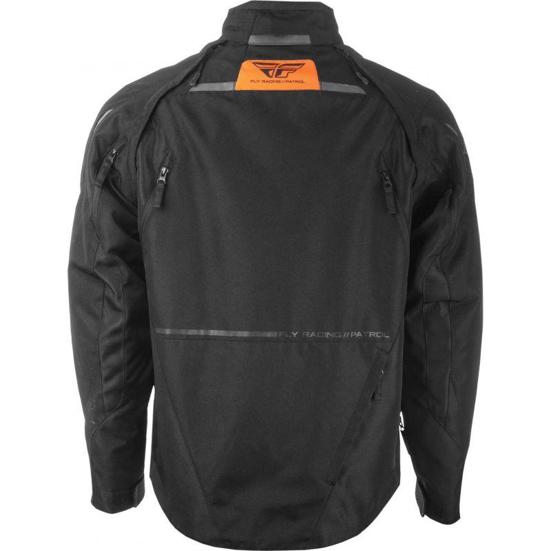 Veste enduro Fly Racing Patrol Jacket noire - 2