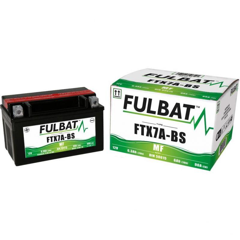 Batterie YTX7A-BS Fulbat 12V - 6Ah