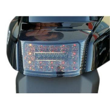 Feu arrière LED fumé avec clignotants Booster après 2004' homologué