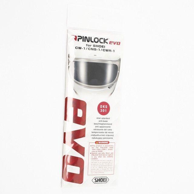Pinlock Shoei pour casque GT-AIR, X-Spirit 3, NXR et RYD transparent