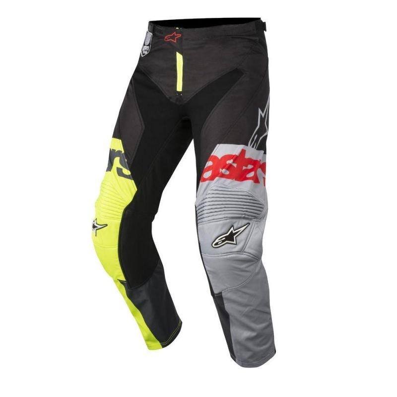 Pantalon cross Alpinestars Racer Flagship jaune fluo/noir/anthracite