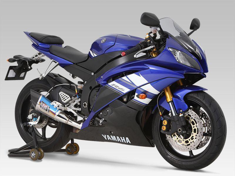 Silencieux homologué Yoshimura R-11 inox pour Yamaha YZF-R6 06-15