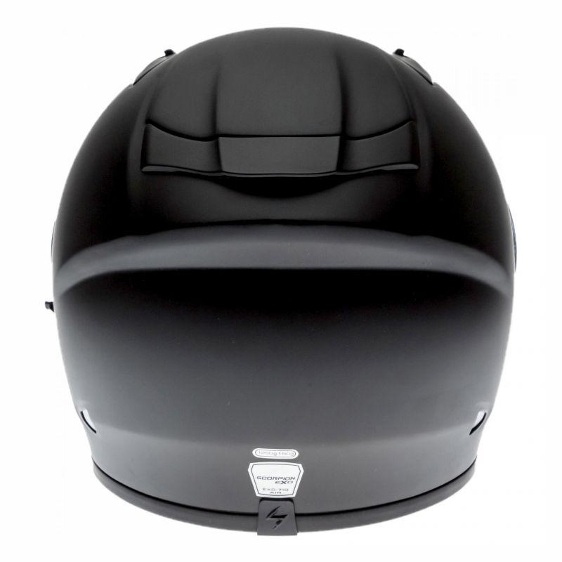 Casque intégral Scorpion EXO-710 AIR Solid Noir mat - 4