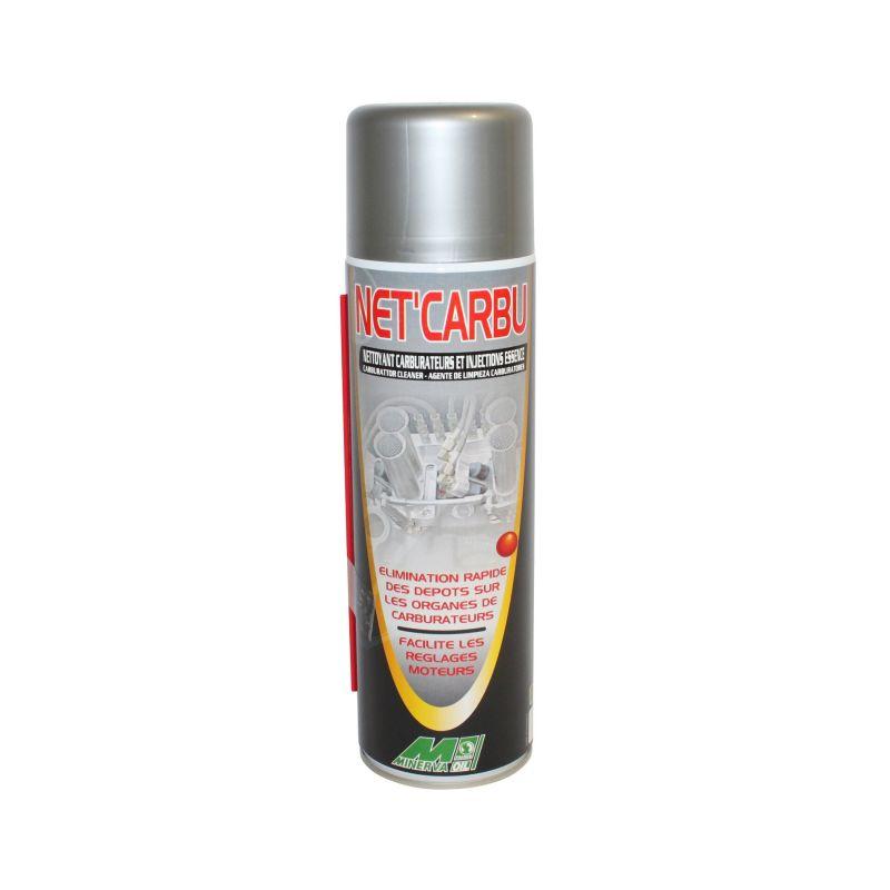 Nettoyant carburateur et injection Minerva aérosol 500 ml