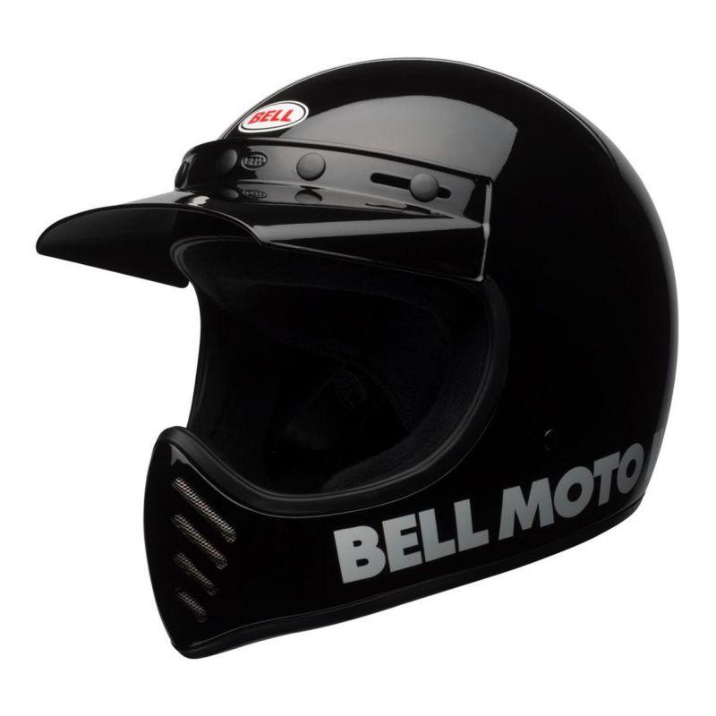 Casque Bell Moto 3 Classic noir