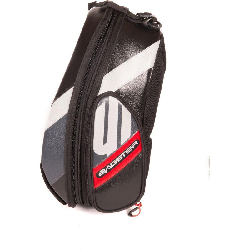 Sacoche de réservoir Bagster Stunt Evo noir/rouge - 2