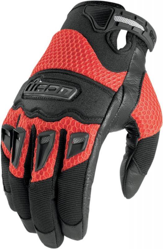 gants icon twenty niner rouge quipement route sur la b canerie. Black Bedroom Furniture Sets. Home Design Ideas