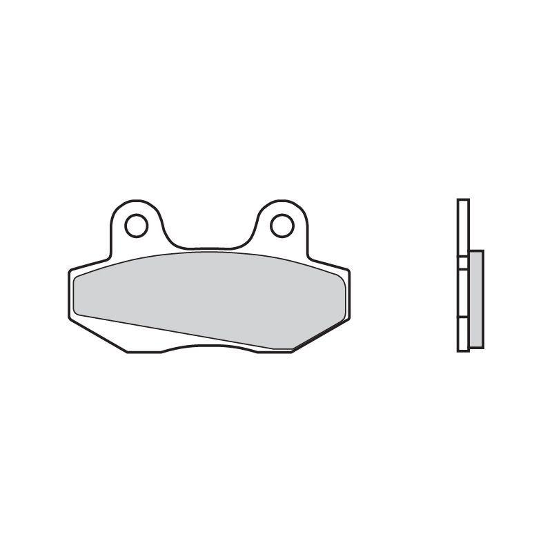 plaquettes de frein brembo 07027cc carbone c ramique avant pi ces freinage sur la b canerie. Black Bedroom Furniture Sets. Home Design Ideas