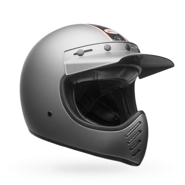 Casque Bell Moto 3 Independent gris mat - 3