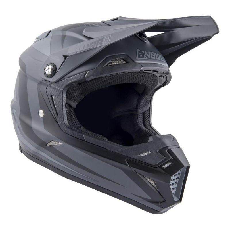 Casque cross Answer AR5 Pulse charcoal/gris - 3