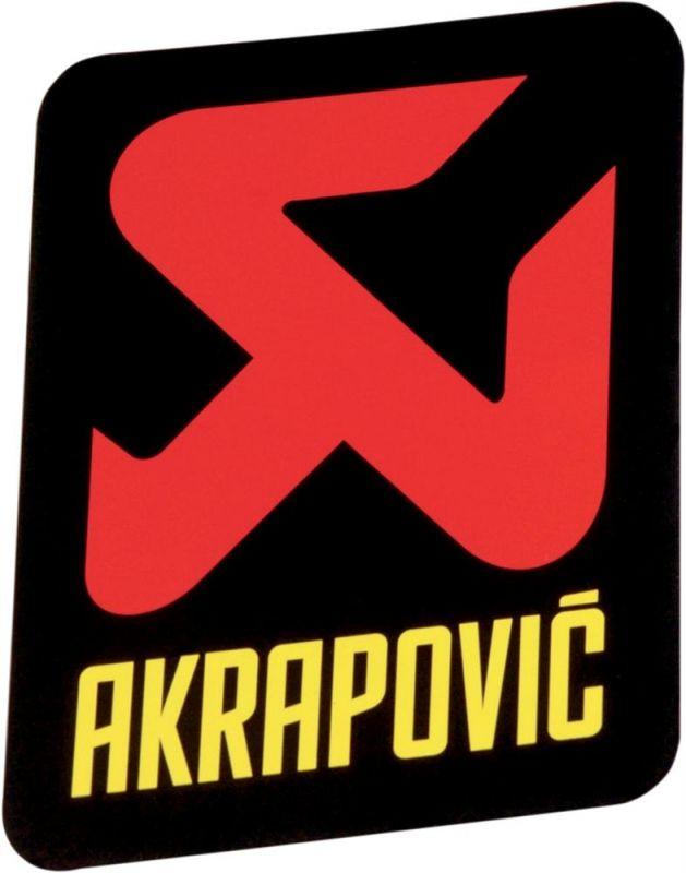 Sticker Akrapovic 75x75mm