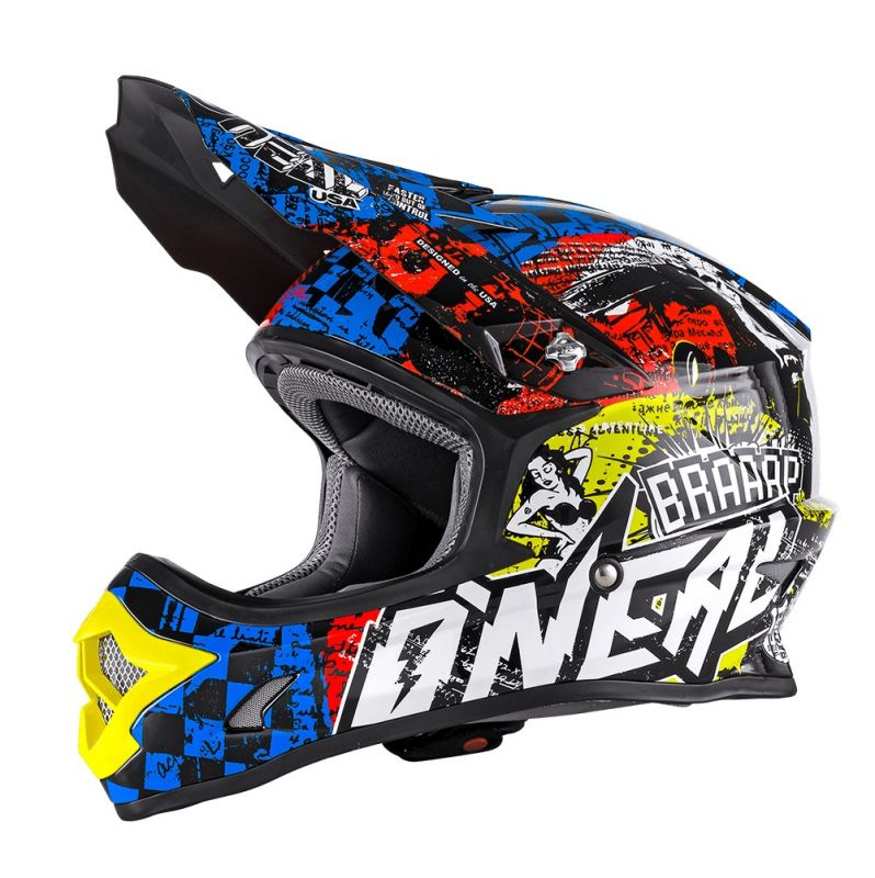 Casque cross enfant O'Neal 3SRS Wild multicolore