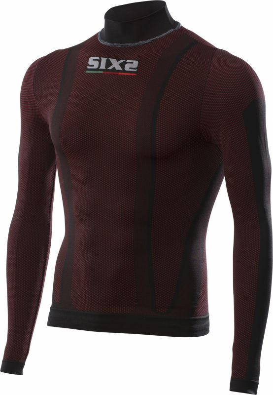 T-Shirt manches longues Sixs TS3 dark red