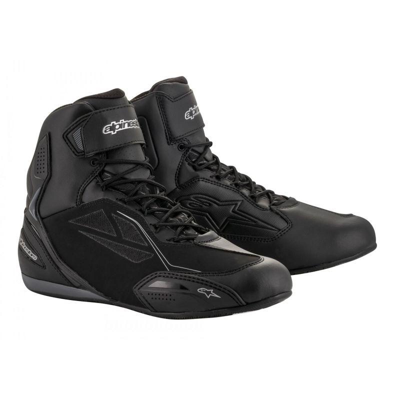 Chaussures moto femme Alpinestars Stella Faster 3 Drystar noir/argent