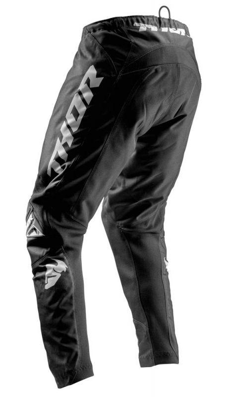 Pantalon cross Thor Sector Zones noir - 1