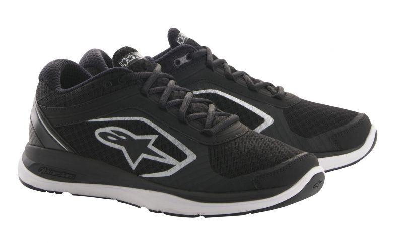 Baskets Alpinestars ALLOY noires / blanches