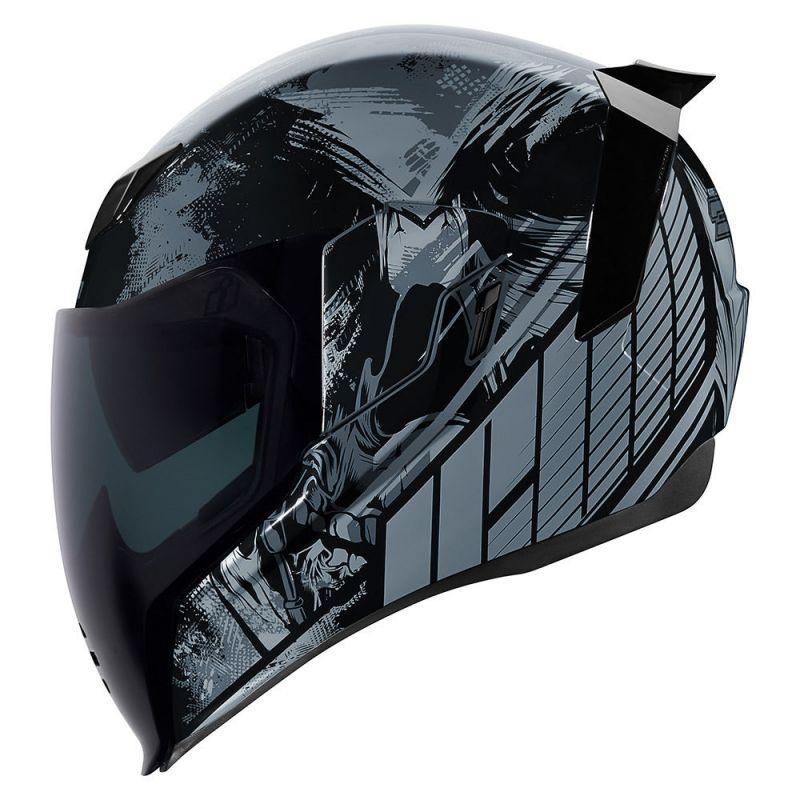 Casque intégral Icon Airflite Stim noir - 1